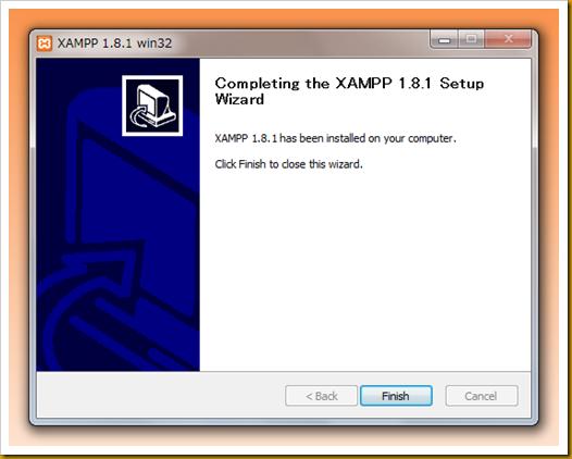 SnapCrab_XAMPP 181 win32 _2012-12-19_21-13-58_No-00