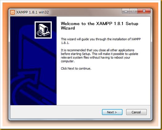 SnapCrab_XAMPP 181 win32_2012-12-19_21-8-1_No-00